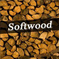 Softwood logs Devon